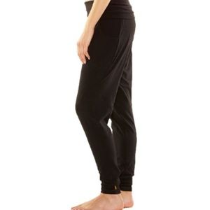 [GRAY] LUCY FOLD OVER WAIST JOGGERS WITH POCKETS
